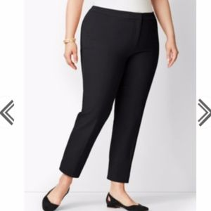 TALBOTS HAMPSHIRE ANKLE FIT CURVY PANT
